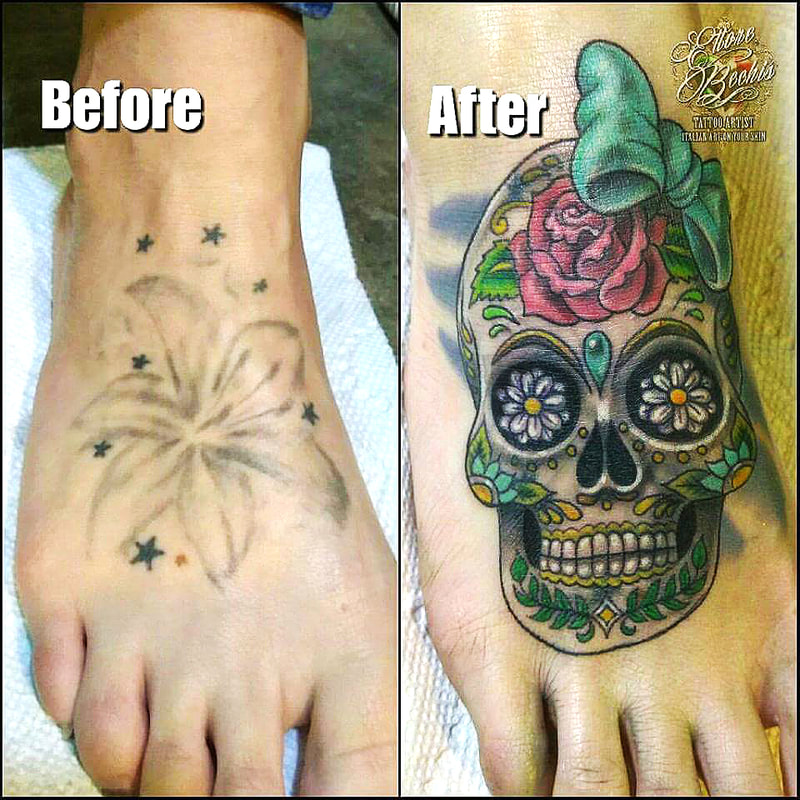 Cover up tattoo,Mexican skull tattoo,Miami tattoo,miami tattoos designs,miami tattoo ideas,fine line tattoo miami,miami tattoo artists instagram,realism tattoo artist miami,miami beach tattoo,tattoo shops near me,tattoo shops in miami beach,best tattoo shops in miami